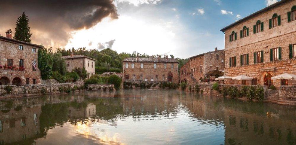 Le acque termali di Bagno Vignoni A qualcuno piace caldo
