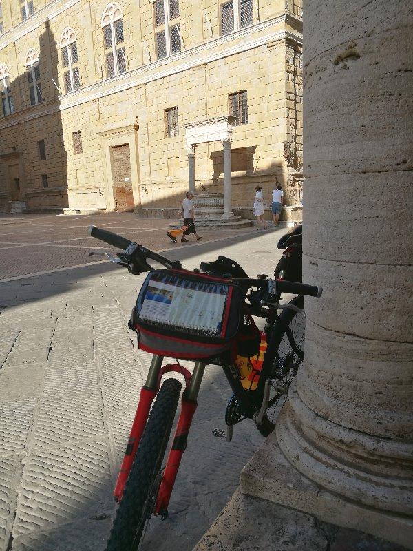 In bicicletta a Pienza Appunti per la prossima vacanza a Pienza