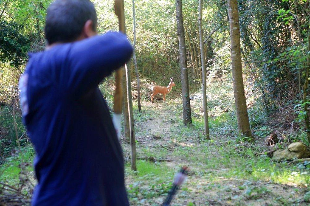 Week end insolito a Pienza Provare il tiro con l'arco nei pressi di Pienza